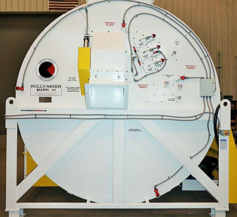Continental Batch Mixer | the Mk VI Rollo-Mixer® Batch Mixer