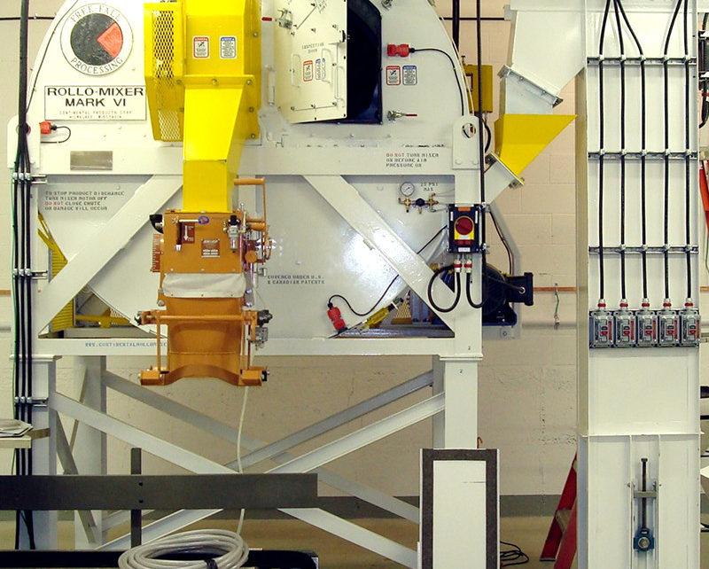Mk VI Rollo-Mixer bagging off