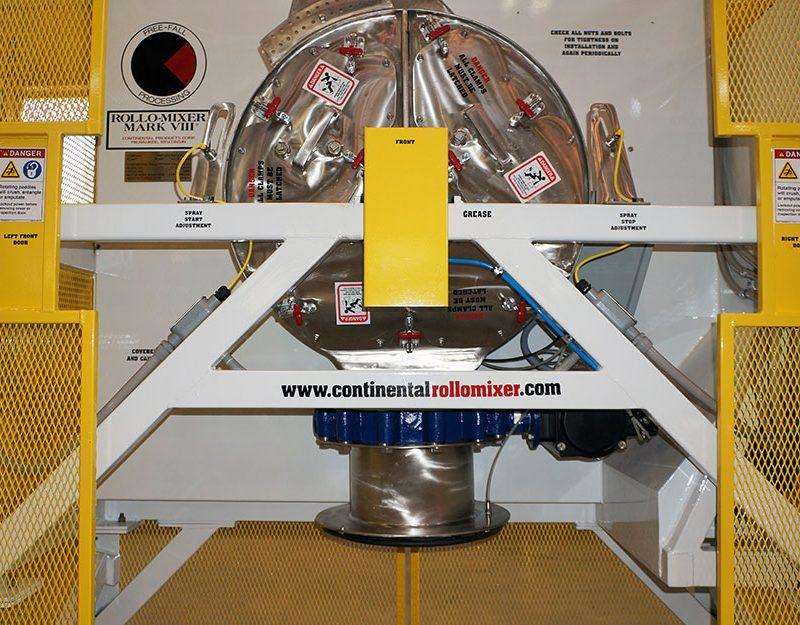Mk VIII Rollo-Mixer discharge position