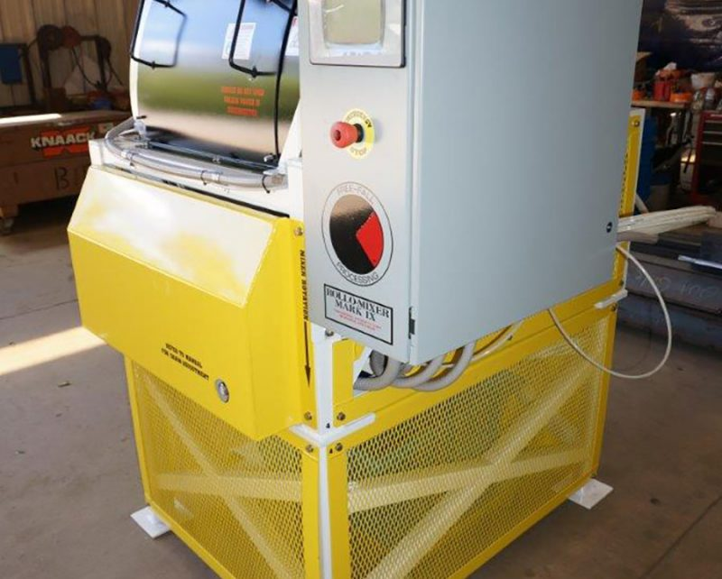 Mk IX Rollo-Mixer batch coater