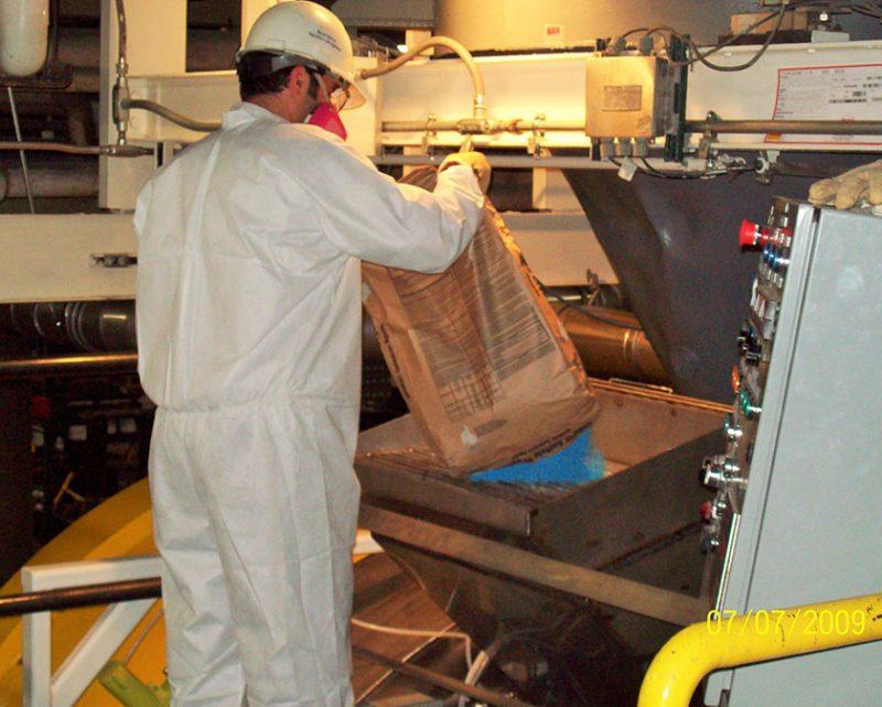 Mk VII Rollo-Mixer loading